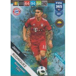James Rodríguez Key Players 321 FIFA 365 Adrenalyn XL