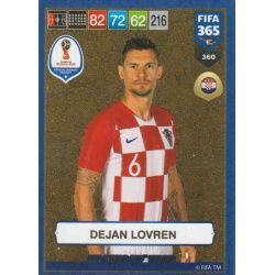 Dejan Lovren FIFA World Cup Heroes 360 FIFA 365 Adrenalyn XL