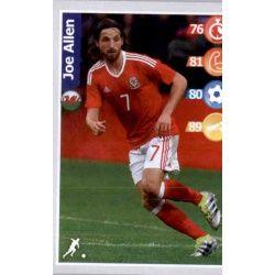 Joe Allen Wales 17 Kelloggs Football Superstars