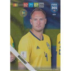 Andreas Granqvist Scandinavian Stars 401 Nordic Edition Fifa 365 2019