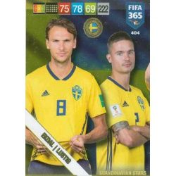 Ekdal / Lustig Scandinavian Stars 404 Nordic Edition Fifa 365 2019