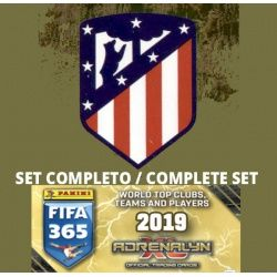 Set Completo Barcelona Adrenalyn XL Fifa 365 2019