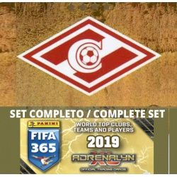 Set Completo Spartak Moskva Adrenalyn XL Fifa 365 2019