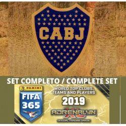 Set Completo Boca Juniors Adrenalyn XL Fifa 365 2019