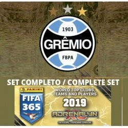 Set Completo Gremio Adrenalyn XL Fifa 365 2019