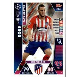 Koke - Pass Master Atlético Madrid 30