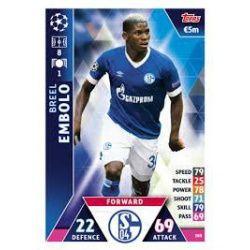 Breel Embolo FC Schalke 04 105 Match Attax Champions 2018-19