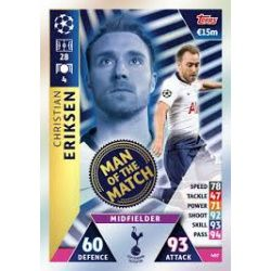 Christian Eriksen Man of the Match 407