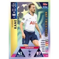 Harry Kane Hat-Trick Hero 440 Match Attax Champions 2018-19