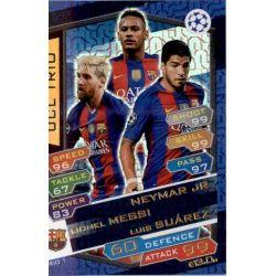 UCL Trio Neymar , Messi , Suarez
