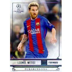 Lionel Messi 50 Topps UEFA Showcase 2017