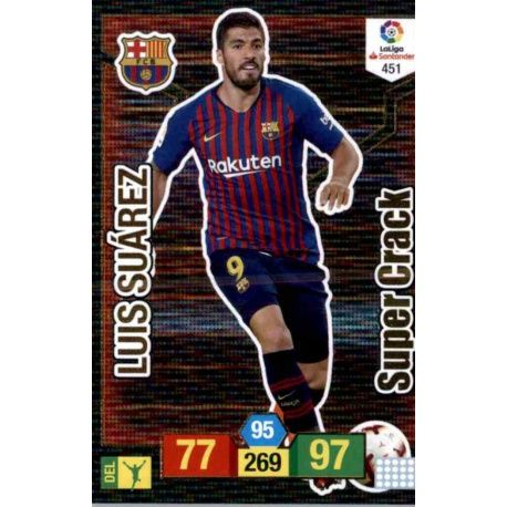 Luis Suarez Limited Edition Panini Fifa 365 Cards 2018 Adrenalyn XL