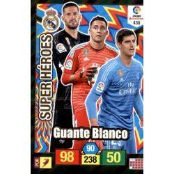 Guante Blanco Super Heroes 438 Adrenalyn XL La Liga Santander 2018-19