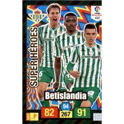 Betislandia Super Heroes 437 Adrenalyn XL La Liga Santander 2018-19