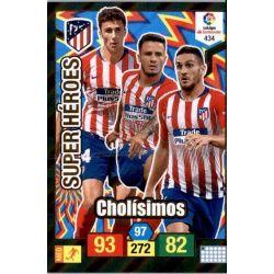 Cholisimos Super Heroes 434 Adrenalyn XL La Liga Santander 2018-19