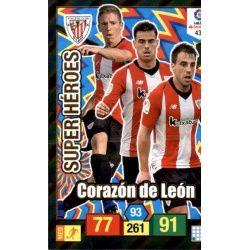 Corazón de León Super Heroes 433 Adrenalyn XL La Liga Santander 2018-19