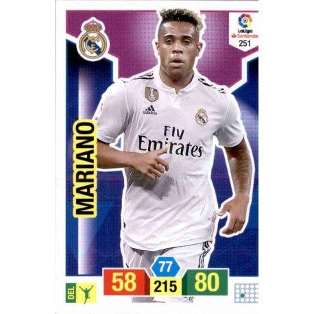 Soccer Trading Cards Mariano Real Madrid Panini Adrenalyn XL 2018-19 5312d3fa7