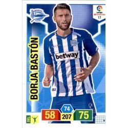 Borja Bastón Alavés 17 Adrenalyn XL La Liga Santander 2018-19