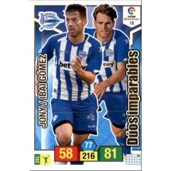 Jony - Ibai Gomez Alavés 18 Adrenalyn XL La Liga Santander 2018-19