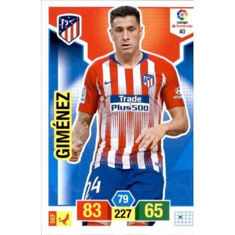 Giménez Atlético Madrid 40