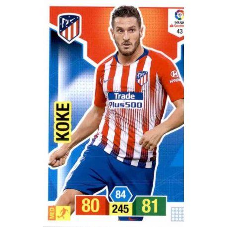 Koke Atlético Madrid 43