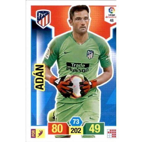 Adán Atlético Madrid 48