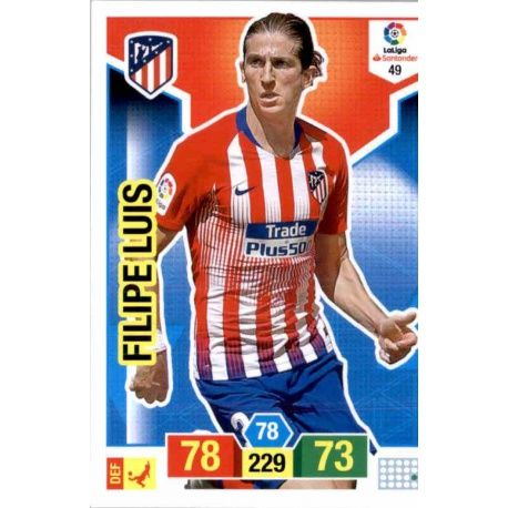 Filipe Luis Atlético Madrid 49