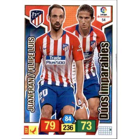 Juanfran - Filipe Luis Atlético Madrid 54