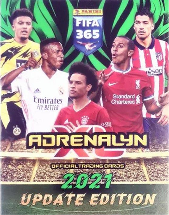 Adrenalyn XL Fifa 365 Update Edition 2021