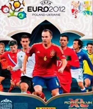 Adrenalyn XLUefa Euro 2012