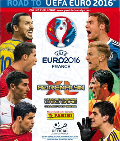 Adrenalyn XL Road To Euro France 2016