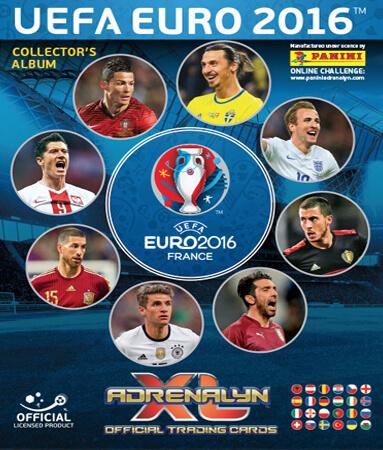 Adrenalyn XLUefa Euro France 2016