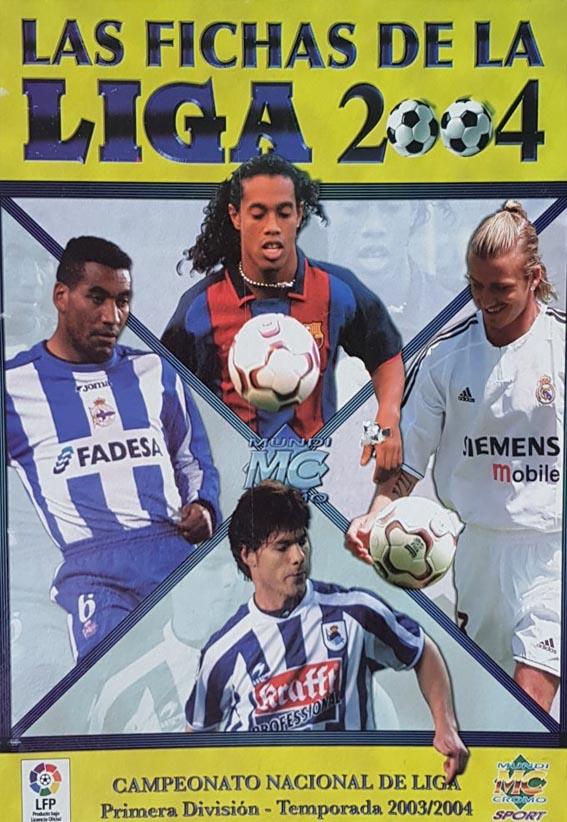Fichas Liga 2004 Mundicromo