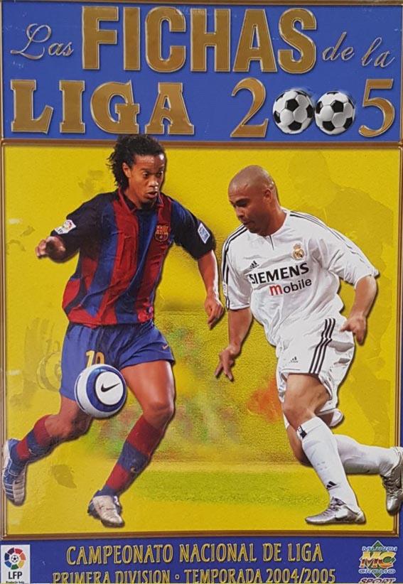Fichas de Liga 2005