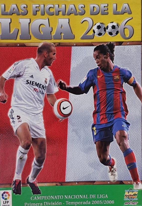 Fichas de La Liga 2006