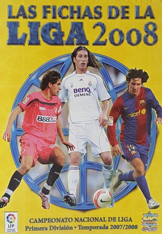 Fichas Liga 2008