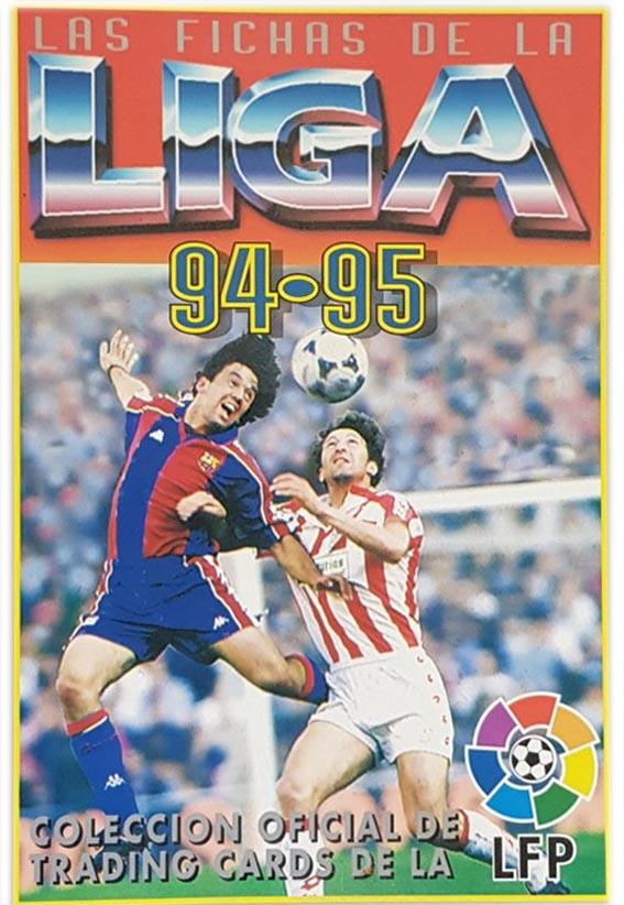 Fichas de la Liga 94-95