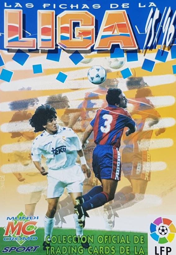 Mundicromo Fichas 1995-96