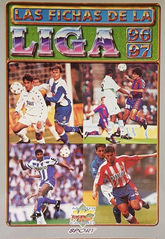Fichas de Liga 1996-97