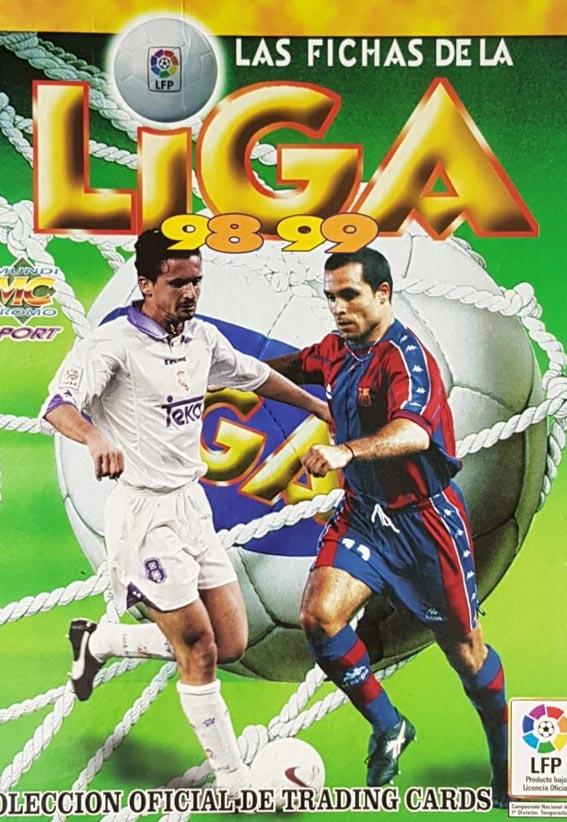 Fichas Liga 1998-99