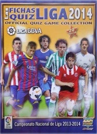 Las Fichas Quiz de la Liga 2014