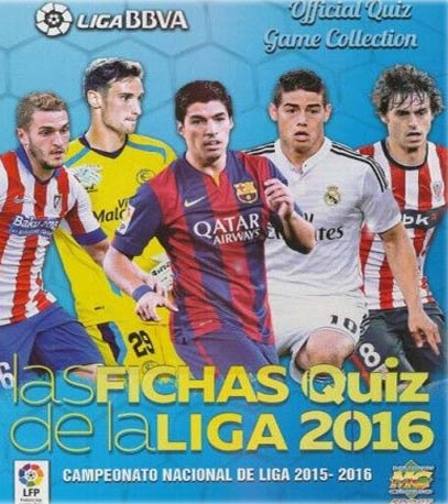 Mundicromo Fichas Liga 2016