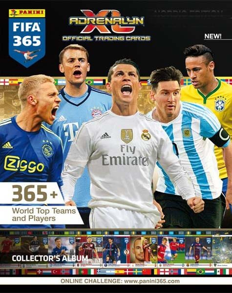 Adrenalyn XL Fifa 365 2015-16