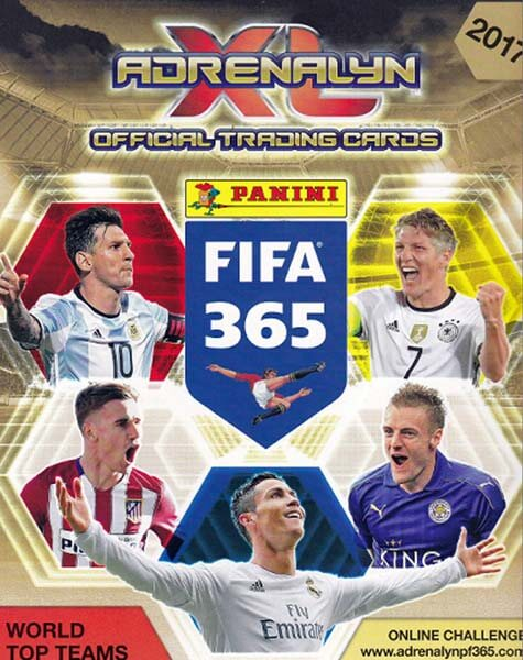 Adrenalyn XL Fifa 365 2017