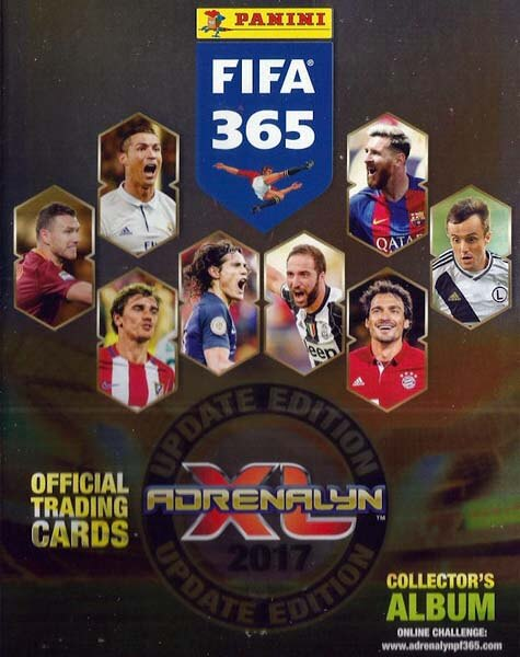 Adrenalyn XL Fifa 365 Update Edition 2017