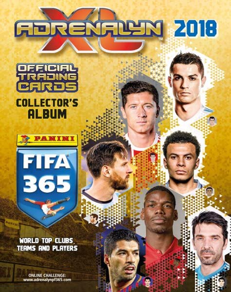 Adrenalyn XL Fifa 365 2018