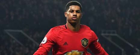 Cards Marcus Rashford