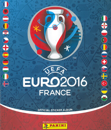 PaniniUefa Euro France 2016