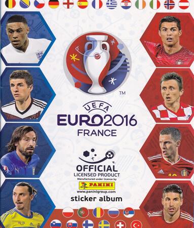 Panini Road Euro France 2016