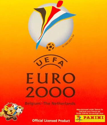 Panini Euro Belgica Holanda 2000